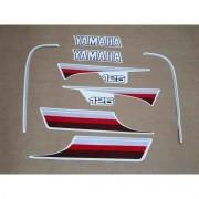 Kit Adesivos Yamaha Rx125 1982 Preta