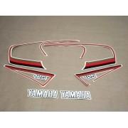 Kit Adesivos Yamaha Rx125 1983 Preta