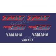 Kit Adesivos Yamaha Tdm 850 1994 Preta