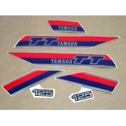Kit Adesivos Yamaha Tt 125 1984