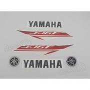 Kit Adesivos Yamaha Xj6f 2013 Branca Xj6