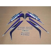 Kit Adesivos Yamaha Ybr 125 2000 Prata