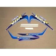 Kit Adesivos Yamaha Ybr 125 2001 Azul