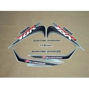 Kit Adesivos Yamaha Ybr 125 2001 Prata