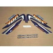 Kit Adesivos Yamaha Ybr 125 2003 Preta