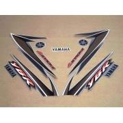 Kit Adesivos Yamaha Ybr 125 2004 Prata