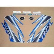 Kit Adesivos Yamaha Ybr 125 2005 Azul