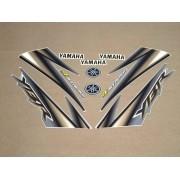 Kit Adesivos Yamaha Ybr 125 2005 Prata
