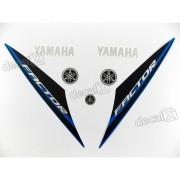 Kit Adesivos Yamaha Ybr Factor 2014 Azul