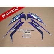 Kit Adesivos Ybr 125 2000 Prata Resinado