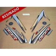 Kit Adesivos Ybr 125 2004 Preta Resinado