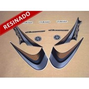 Kit Adesivos Ybr 125 2007 Preta Resinado