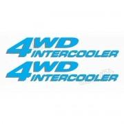 Kit Emblema Adesivo Kia Grand Sportage 4wd Intercooler Azul