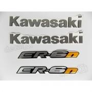 Kit Emblema Adesivo Resinado Kawasaki Er-6n re41