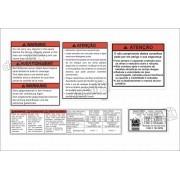 Kit Etiquetas Adesivo Suzuki Vstrom Ets1007