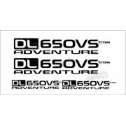 Kit Jogo Adesivo Suzuki Vstrom Dl650vs Adventure Vt019