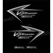 Kit Jogo Adesivo Suzuki Vstrom Dl650vs Adventure Vt022