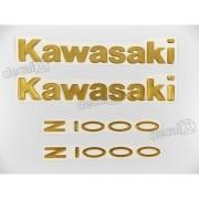 Kit Jogo Emblema Adesivo Resinado Kawasaki Z1000 re60