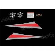 Kit Jogo Emblema Adesivo Tanque Suzuki Gs500 Gs508