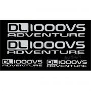 Kit Jogo Faixa Adesivo Suzuki Vstrom Dl1000vs Adventure