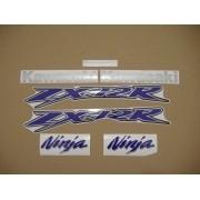 Kit Jogo Faixa Emblema Adesivo Kawasaki Zx-12 2003