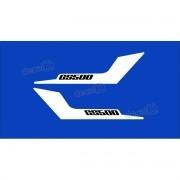 Kit Jogo Faixa Emblema Adesivo Rabeta Suzuki Gs500 Gs510