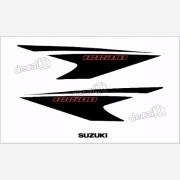Kit Jogo Faixa Emblema Adesivo Rabeta Suzuki Gs500 Gs515
