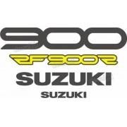 Kit Jogo Faixa Emblema Adesivo Suzuki Rf900r