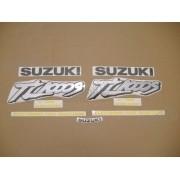 Kit Jogo Faixa Emblema Adesivo Suzuki Tl1000s 1998 Vermelha
