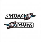 Par Adesivo Mv Agusta F4 Ag025