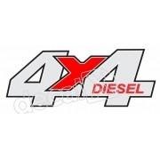 Par Adesivos 4x4 Diesel Troller 2008