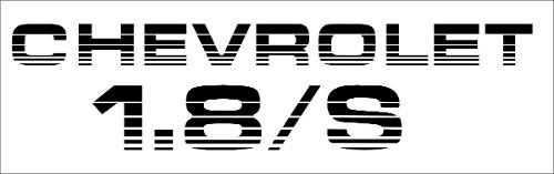 Adesivo Monza 1.8s Mz002