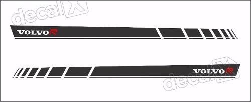 Adesivo Faixas Laterais Volvo R C30 C303