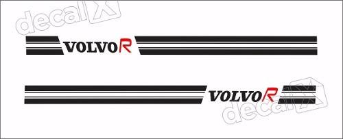 Adesivo Faixas Laterais Volvo R C30 C302