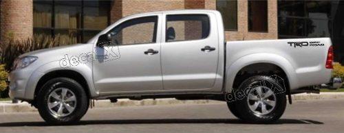 Adesivo Faixas Laterias Toyota Hilux Trd Off Road Trdofr1