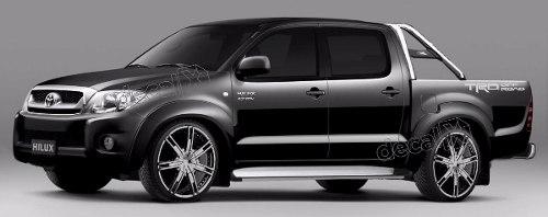 Adesivo Faixas Laterias Toyota Hilux Trd Off Road Trdofr2