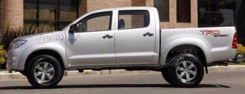 Adesivo Faixas Laterias Toyota Hilux Trd Sport Trdofr4