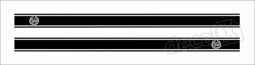 Adesivo Faixa Lateral Mini Cooper Countryman 3m Fa4