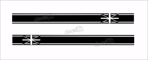 Adesivo Faixa Lateral Mini Cooper 3m Fa39