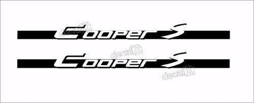 Adesivo Faixa Lateral Mini Cooper 3m Fa37
