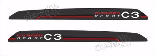 Adesivo Faixa Lateral Citroen C3 Sport 3m C316