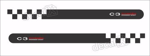 Adesivo Faixa Lateral Citroen C3 Sport 3m C321