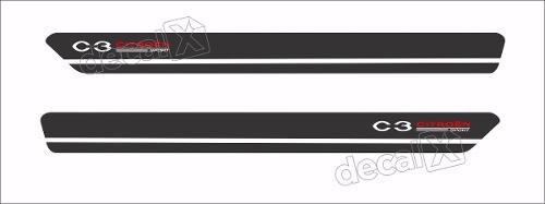 Adesivo Faixa Lateral Citroen C3 Sport 3m C323