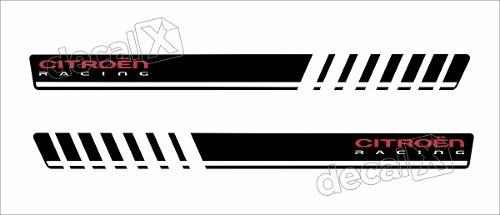 Adesivo Faixa Lateral Citroen C3 Sport 3m C327