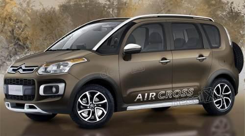 Adesivo Faixa Lateral Citroen Aircross 3m Arco14