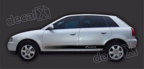 Adesivo Audi A3 Lateral A35
