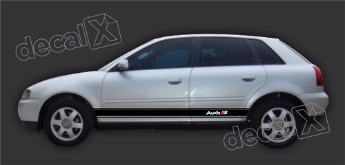 Adesivo Audi A3 Lateral A36