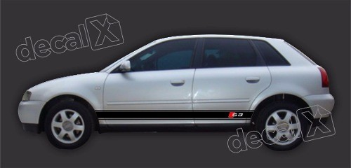 Adesivo Audi A3 Lateral A37