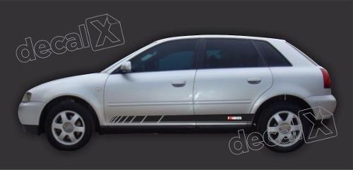 Adesivo Audi A3 Lateral A49
