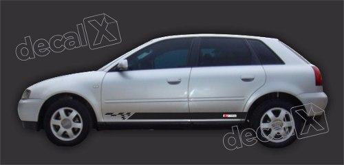 Adesivo Audi A3 Lateral A44